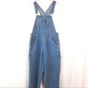 {OLD NAVY} Vintage 90's Style Bib Baggy Overalls